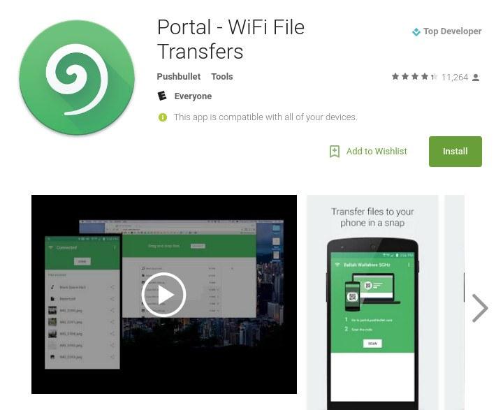 wireless-transfer-portal