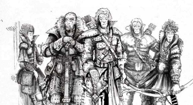 Warrior-Rogue-Mage