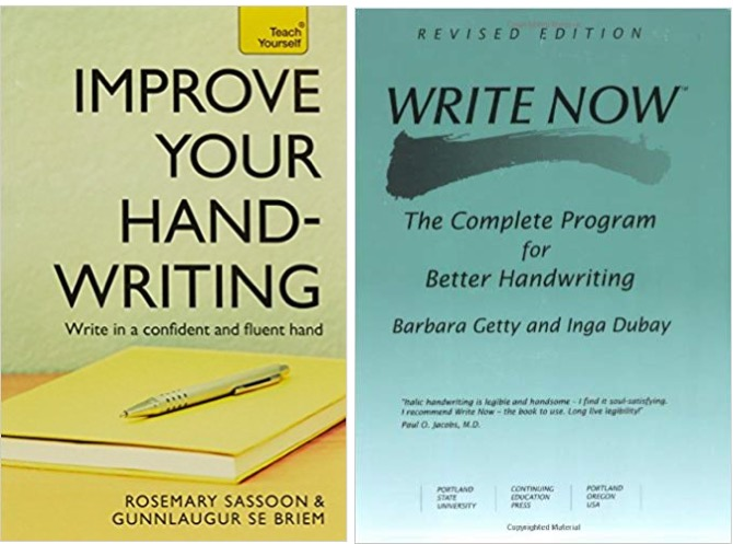 Books to improve your handwriting