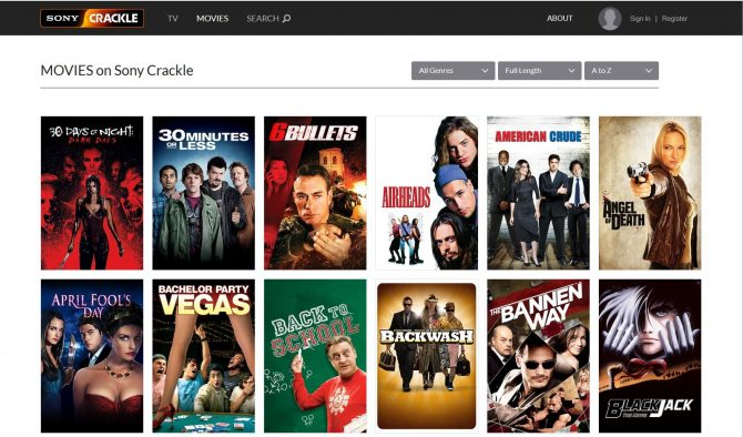 The Best Free Movie Streaming Sites - Crackle