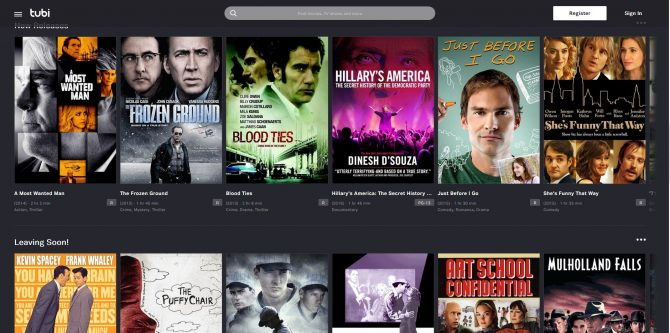The Best Free Movie Streaming Sites - Tubi TV
