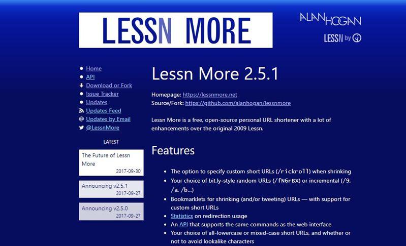 url-shortener-scripts-lessn-more